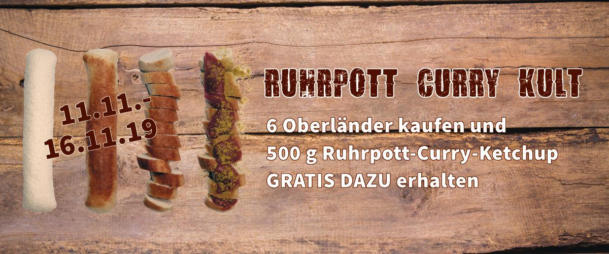 Curry-Wurst Aktion bei Metzgerei Kiesinger in TübingenDie wohl beste Currywurst der Welt - vom Metzger